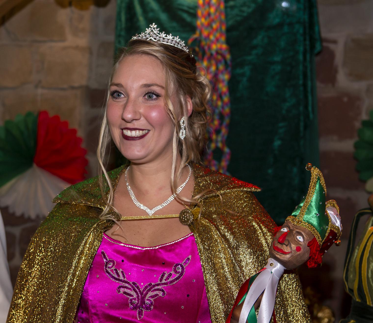 Prinzessin Jenny II. beim KVK im Amt