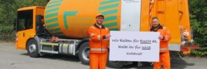 Stadtbildpflege appelliert an die Bevölkerung in Kaiserslautern