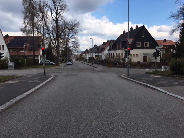Straßenunterhaltungsarbeiten auf dem Lämmchesberg