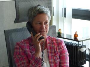 Bürgermeisterin hält erste telefonische Sprechstunde