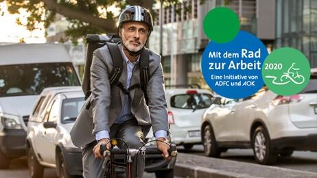 AOK Mitmach-Aktion: In den Sattel, fertig, los – mitfahren und gewinnen