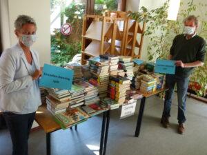 Bücher in Quarantäne