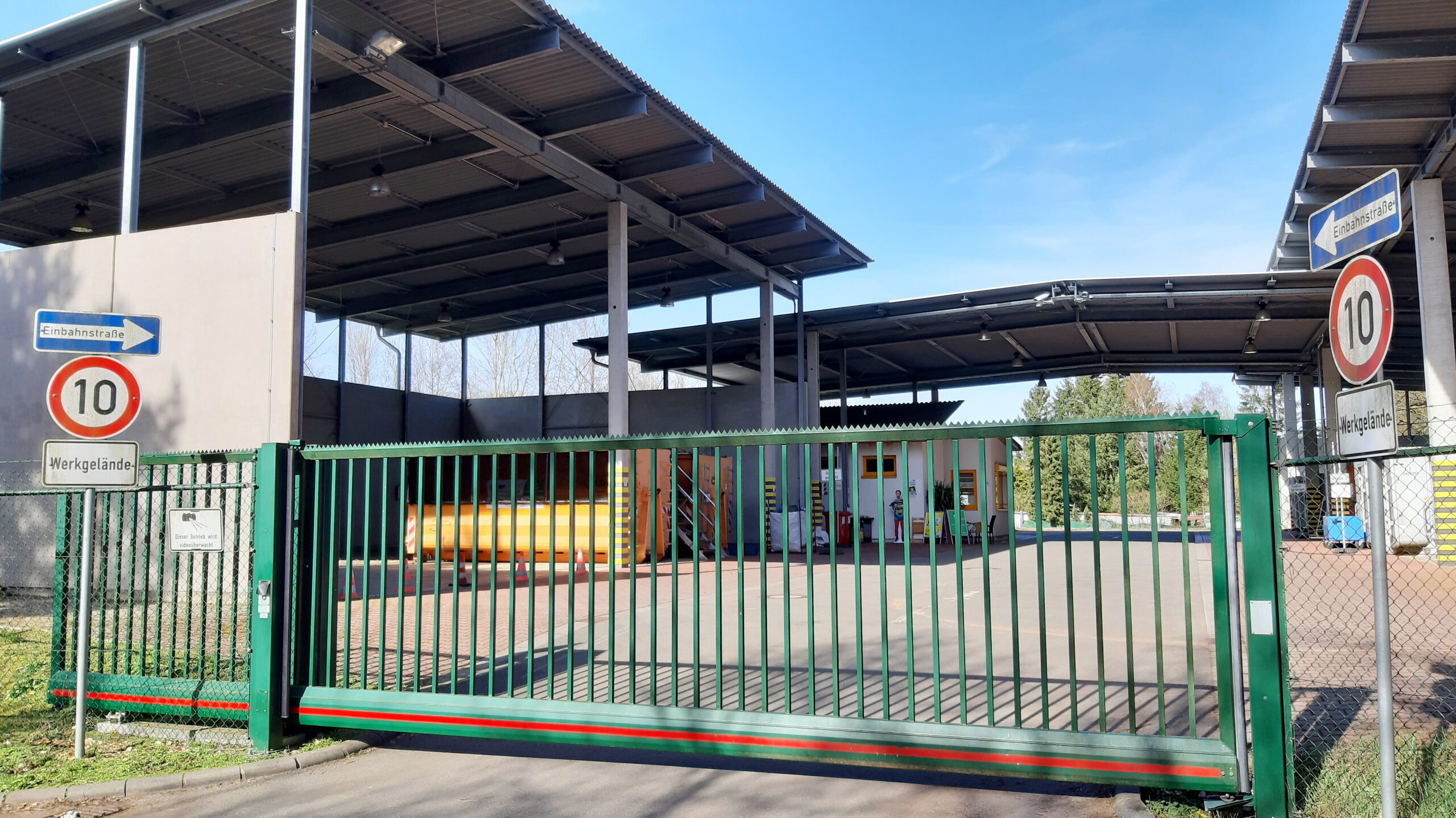 Städtischer Wertstoffhof in Erfenbach öffnet am 17. Juli 2020