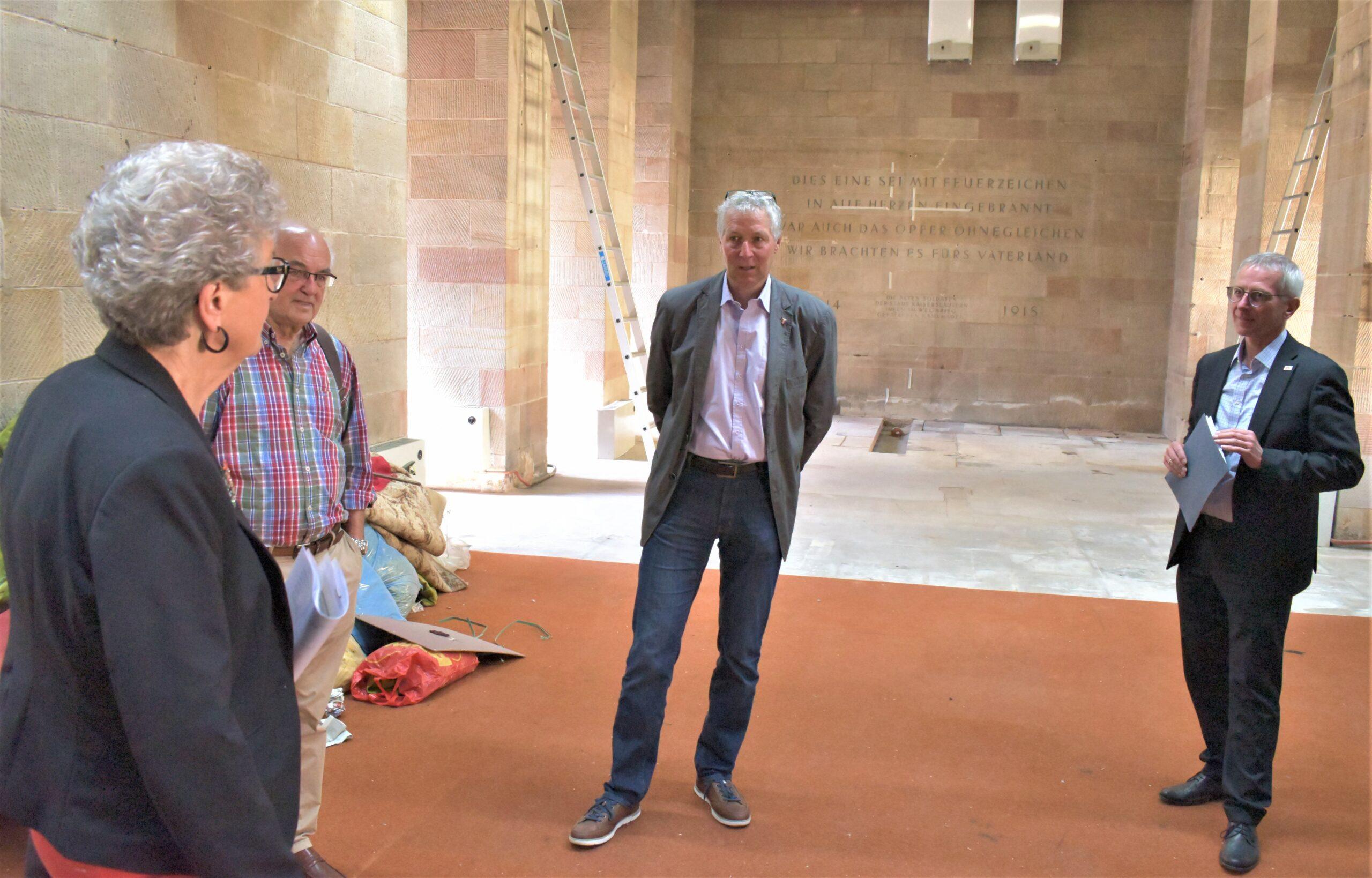 Friedenskapelle: Renovierungsarbeiten angelaufen