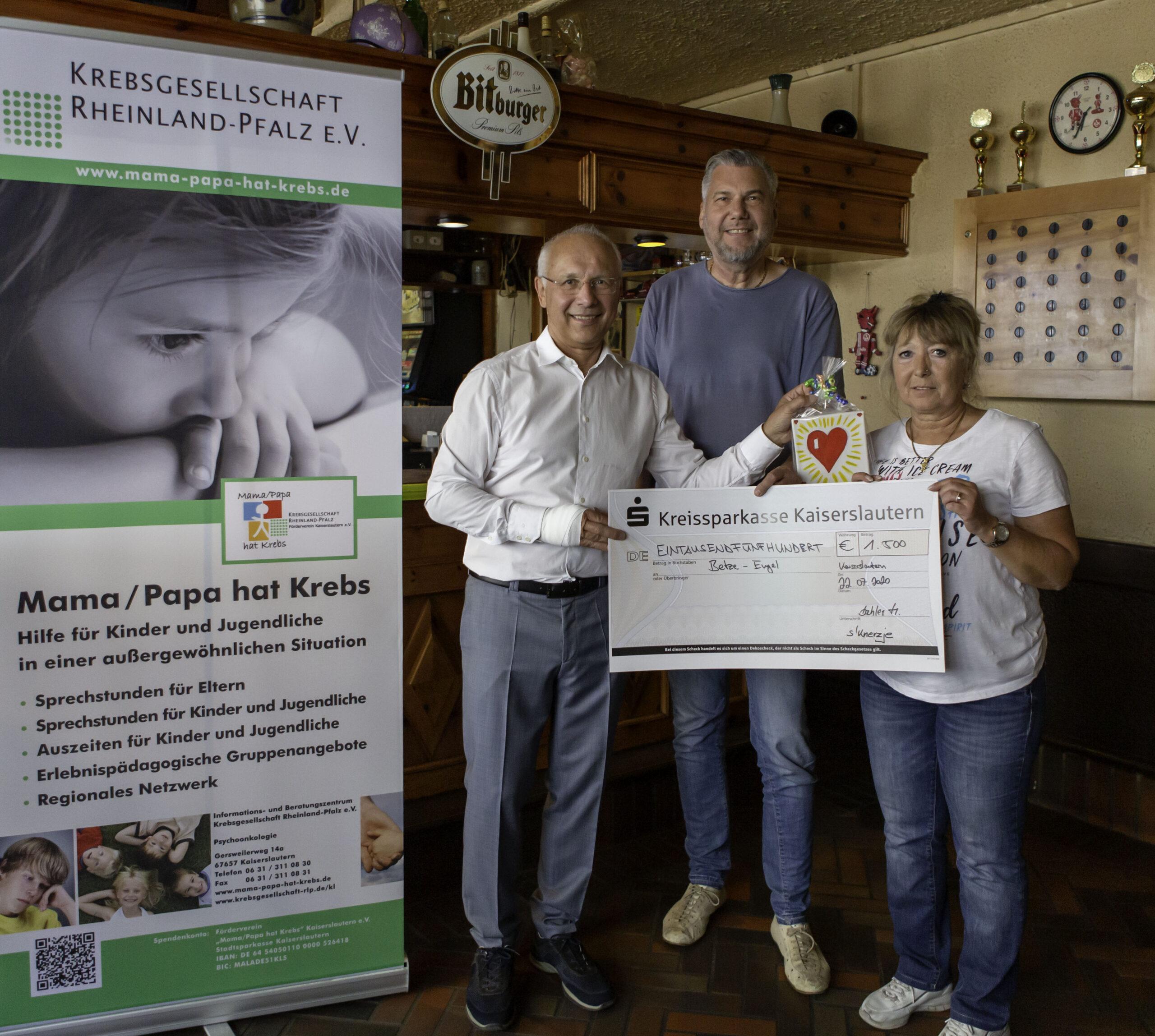 Fleißige FCK Tipper sorgen für eine Spende von 1.500€