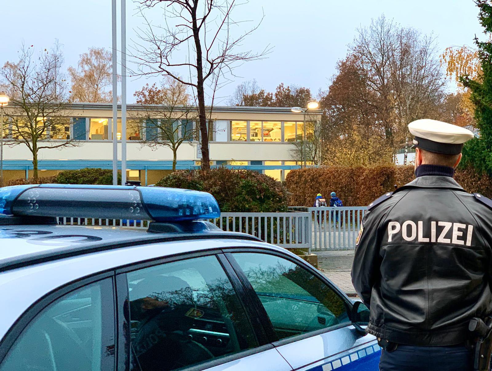 Polizei hat Schulwege im Blick