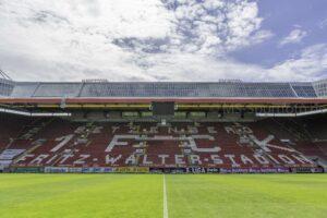 Keine Zuschauer beim Pokalspiel gegen Jahn Regensburg