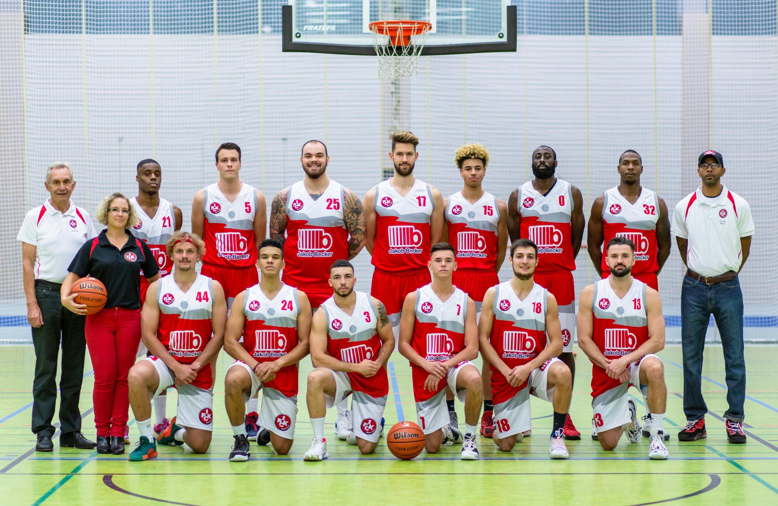 1. FC Kaiserslautern Basketballteam der Herren startet in die Saison