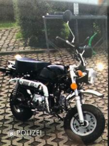 Moped gestohlen