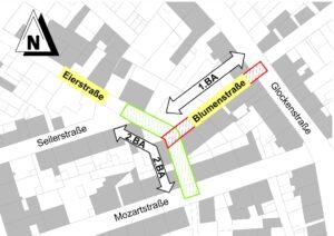 Kanalsanierung in Eier- und Blumenstraße