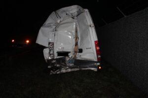 A6/Kaiserslautern, Unfall wegen Pannenfahrzeug – Hoher Sachschaden
