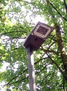 Variable Beleuchtung in der Rütschhofstraße bereits in Betrieb