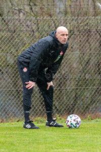 Erstes Training mit Marco Antwerpen