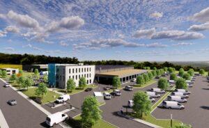 Garbe Industrial Real Estate vermietet in Kaiserslautern an Amazon
