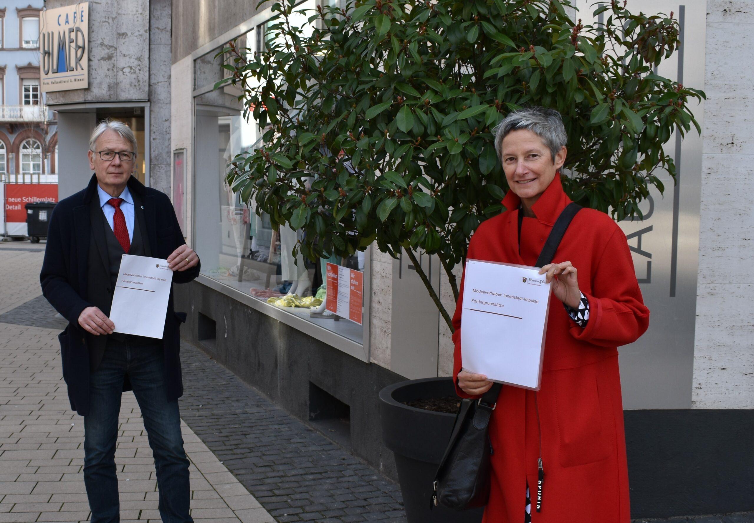 """Für lebendige Innenstädte – Modellvorhaben """"Innenstadt-Impulse"""""""