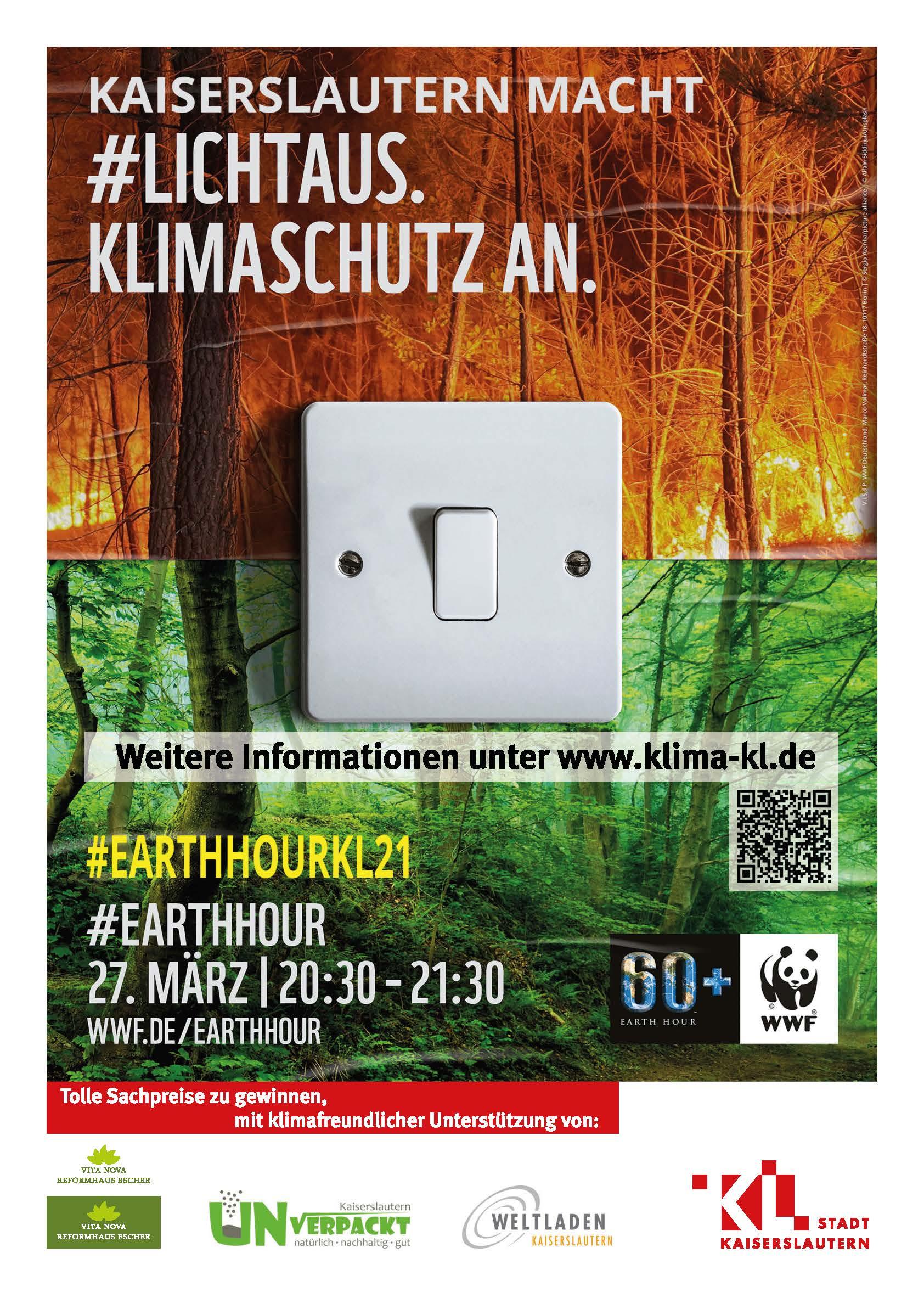 Licht aus – Klimaschutz an!