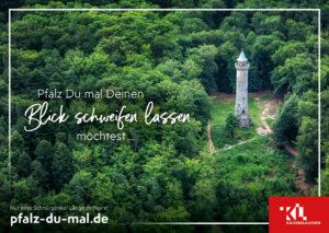 Mit Postkarten für einen Urlaub in Kaiserslautern werben