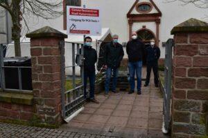 PCR-Testzentrum in der Alten Eintracht startet heute 15 Uhr