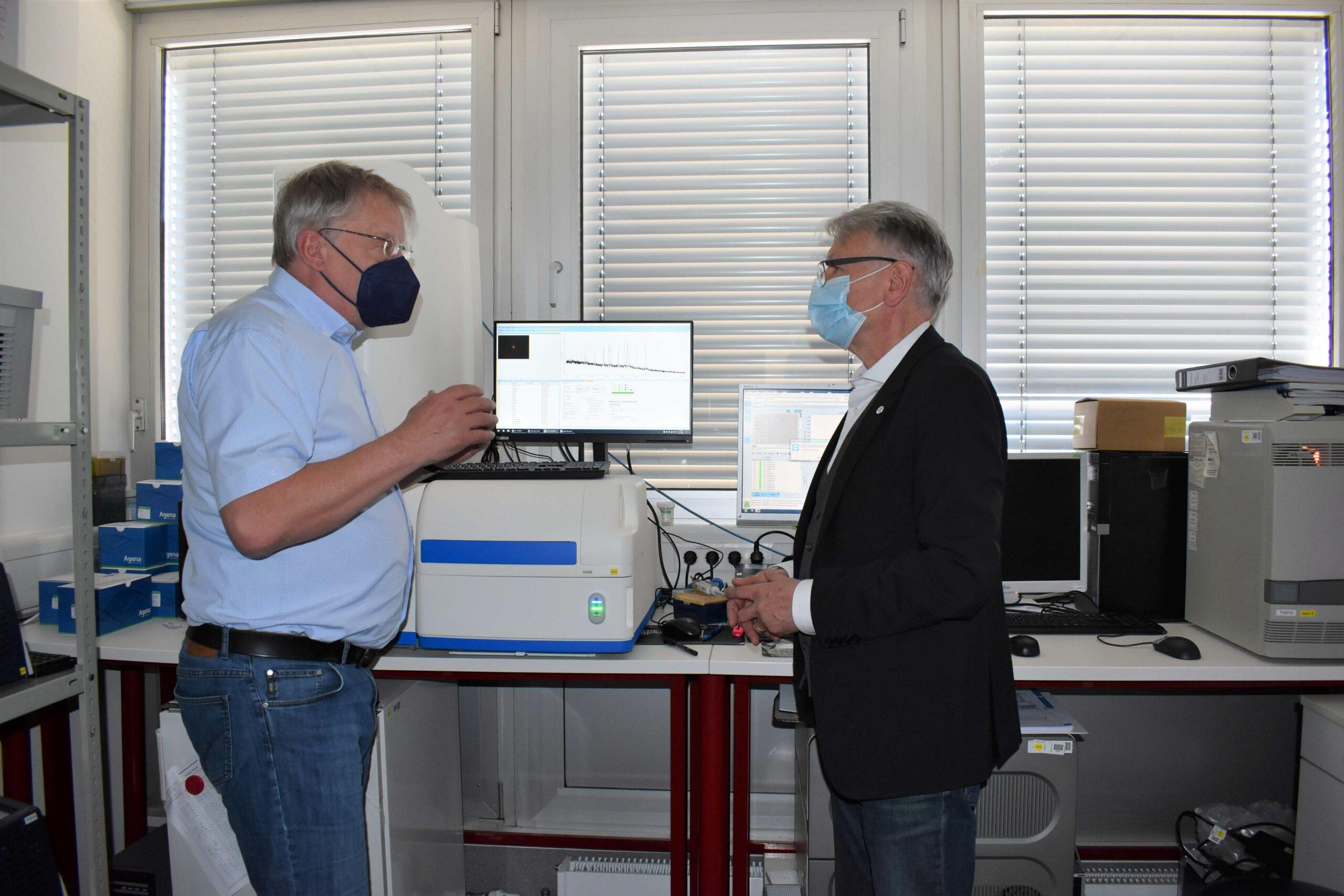 OB Klaus Weichel trifft Dr. med. Bernhard Thiele