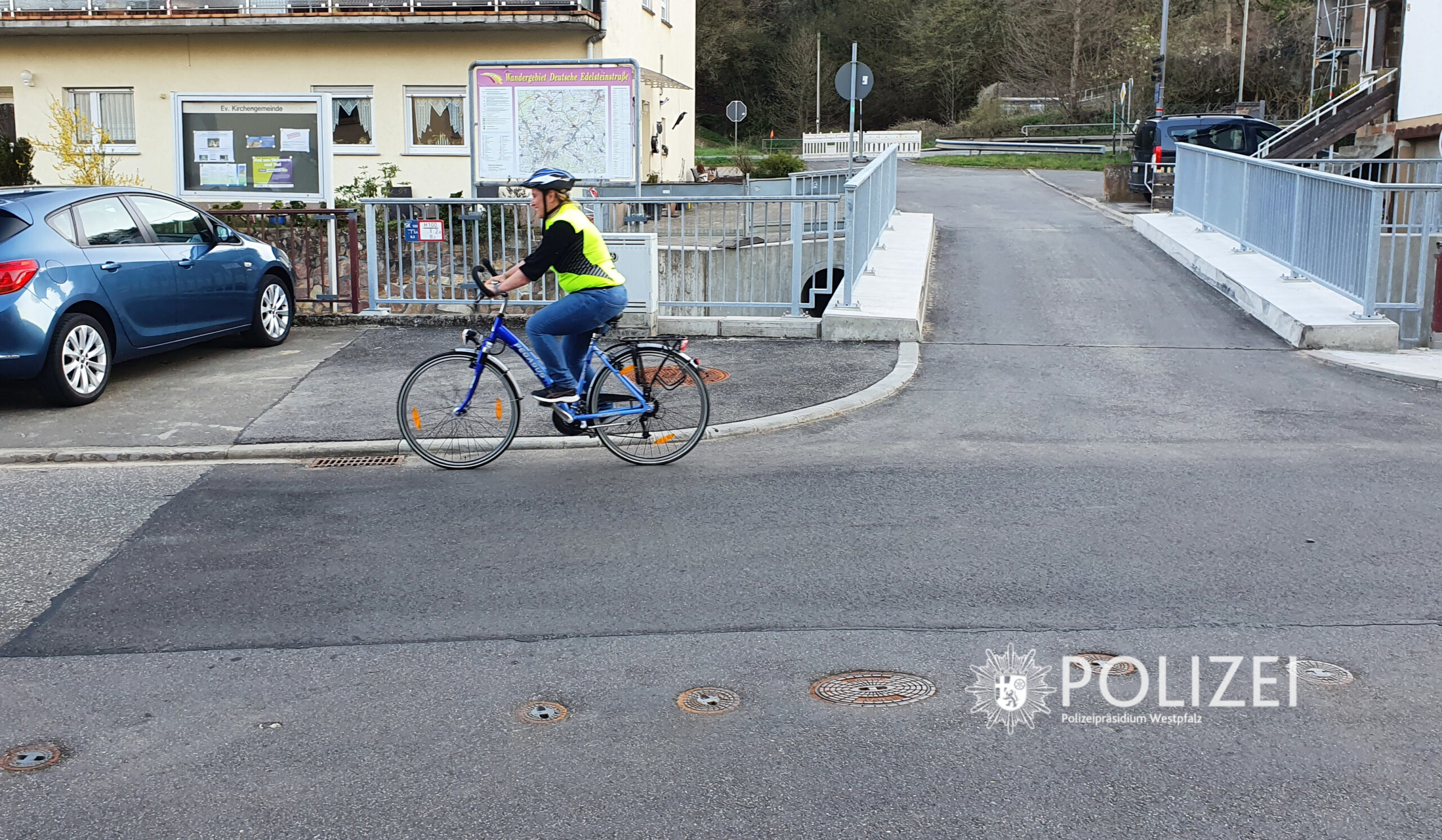 Radfahrende im Blick: Sehen und gesehen werden