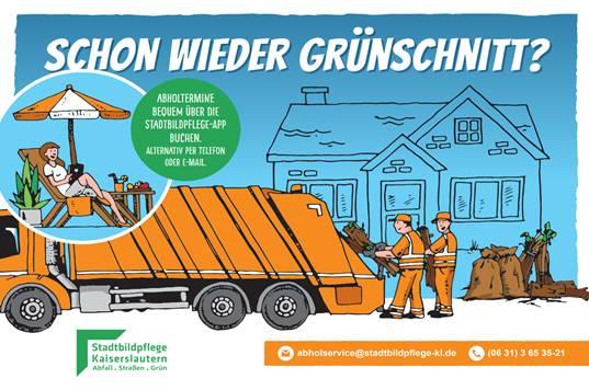 Stadtbildpflege bietet kostengünstig Grünschnittabholung an