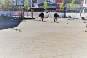 Schillerplatz: ab Montag werden die Bauzäune entfernt