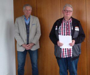 Manfred Roselt in den Ruhestand verabschiedet