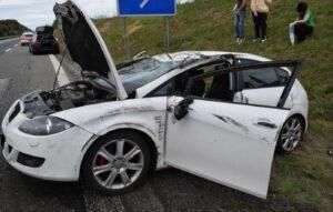 Mehrere Verletzte bei Verkehrsunfall auf der A 63
