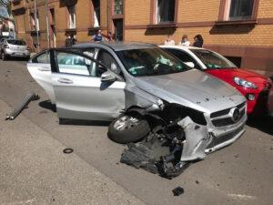 Unfall mit sieben Autos