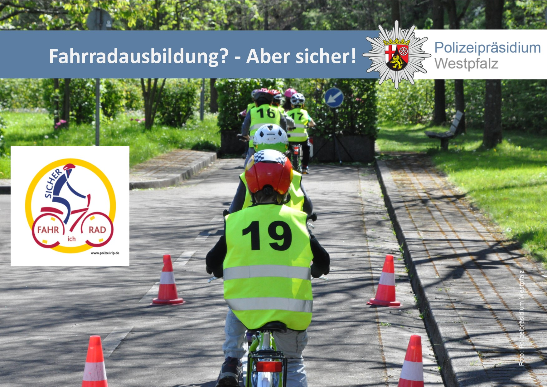 Fahrradführerschein in den Sommerferien
