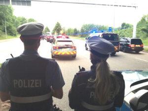 Verkehrskontrollen in der Mainzer Straße