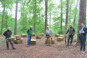 Insgesamt 10 Hektar Wald für den Ruheforst