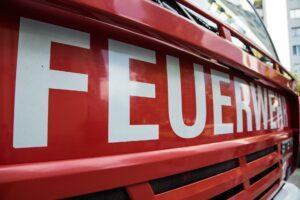 Feuerwehr Kaiserslautern unterstützt im Hochwassergebiet