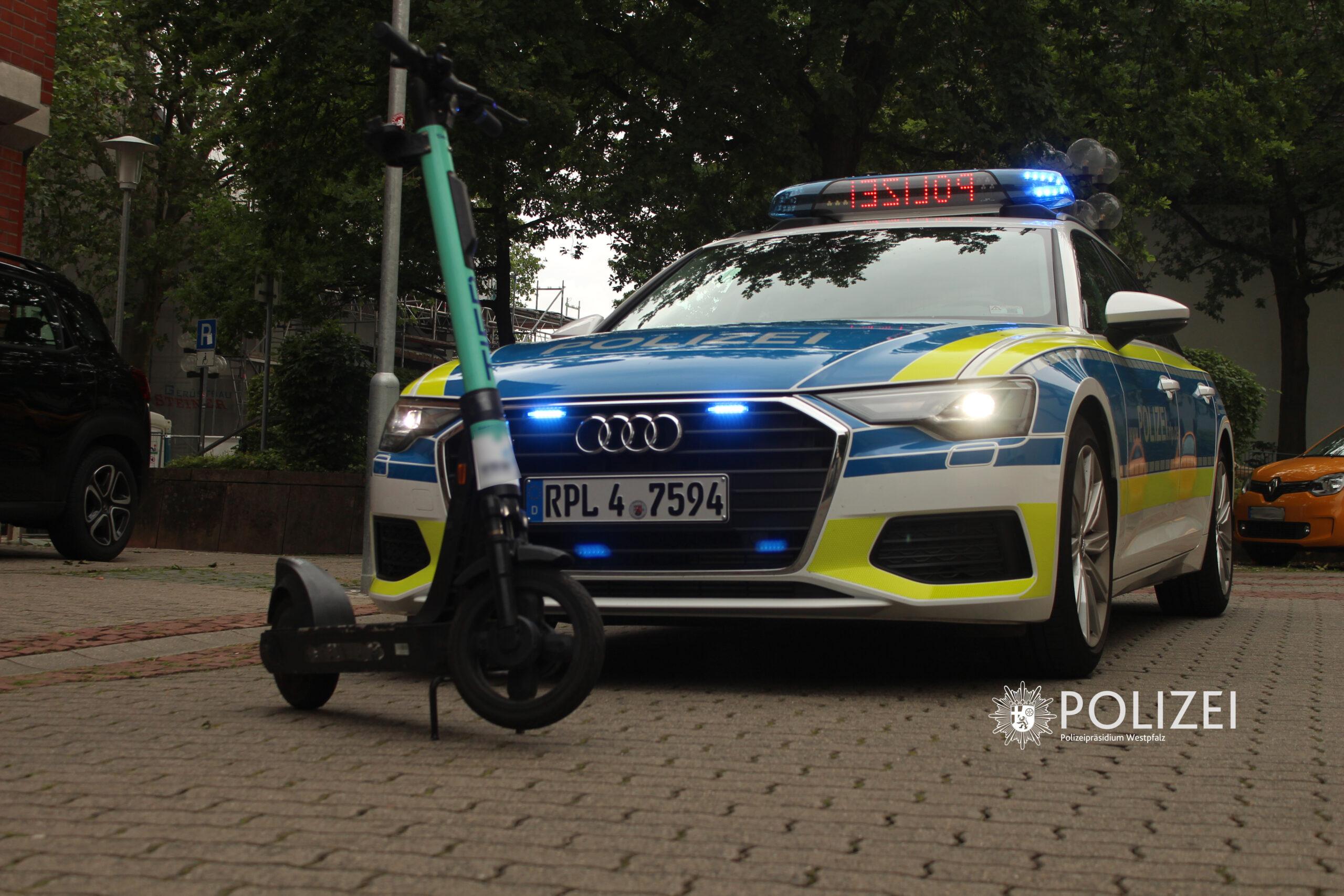 Polizei kündigt E-Scooter Kontrollen an
