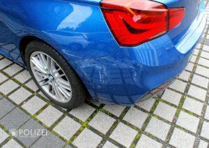 Beim Rangieren BMW gerammt