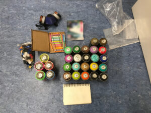 Graffiti-Sprayer in flagranti erwischt