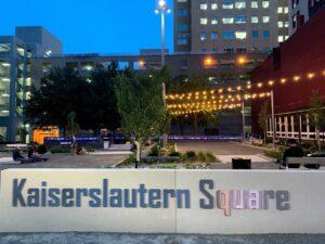 Kaiserslautern Square nach Umgestaltung neu eingeweiht