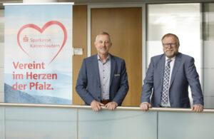 Stabwechsel bei der Sparkasse Kaiserslautern