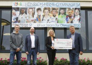 Heinrich-Heine-Gymnasium erhält Förderung durch die Sparkassen-Finanzgruppe